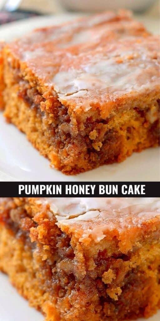 Pumpkin Honey Bun Cake Recipe for Thanksgiving
