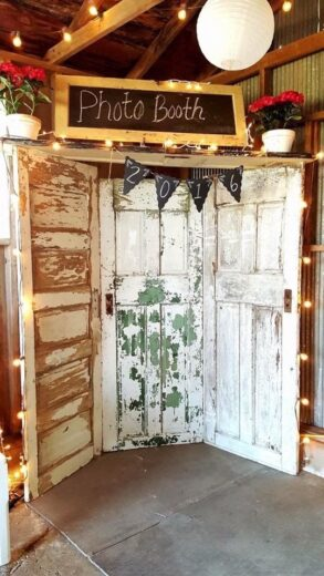 Easy Wood Door Photo Both for how to make your Graduation Party special