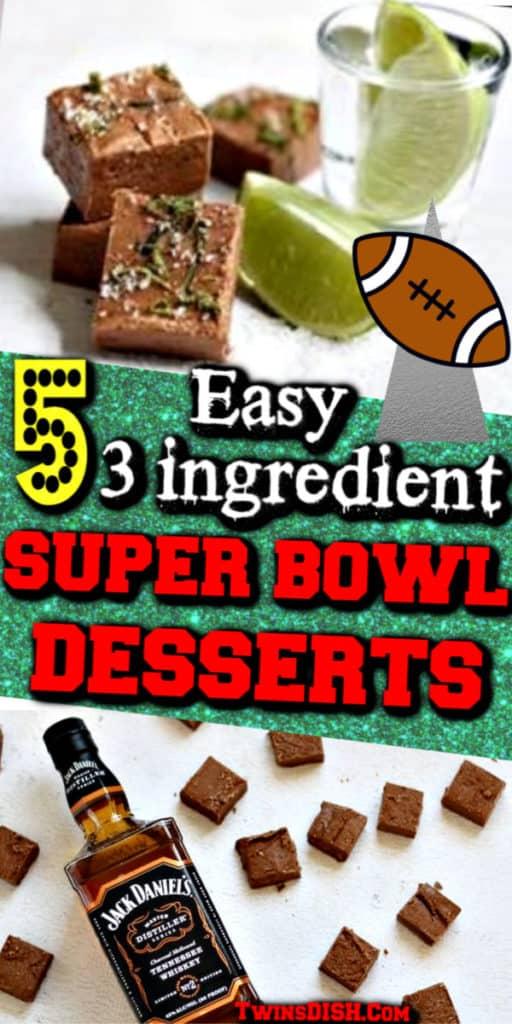 Easy and cute Superbowl dessert ideas