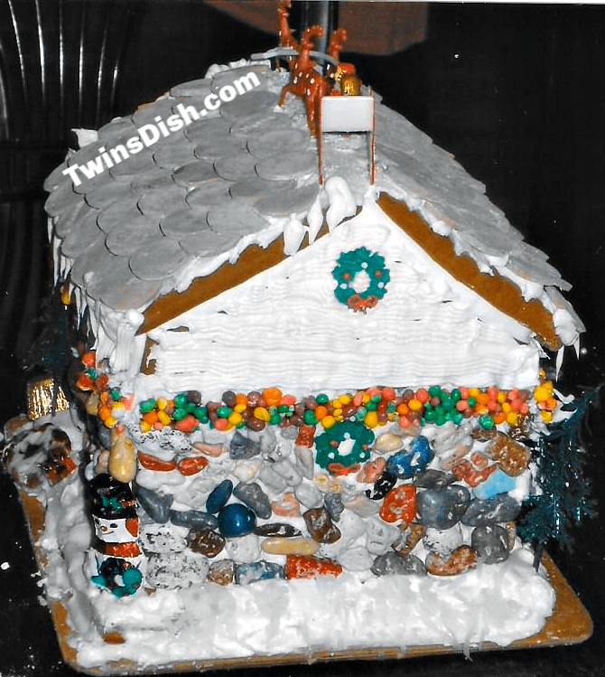 Christmas Gingerbread House Craft Idea