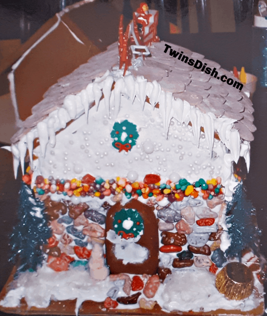 Christmas Gingerbread House Decorating Idea