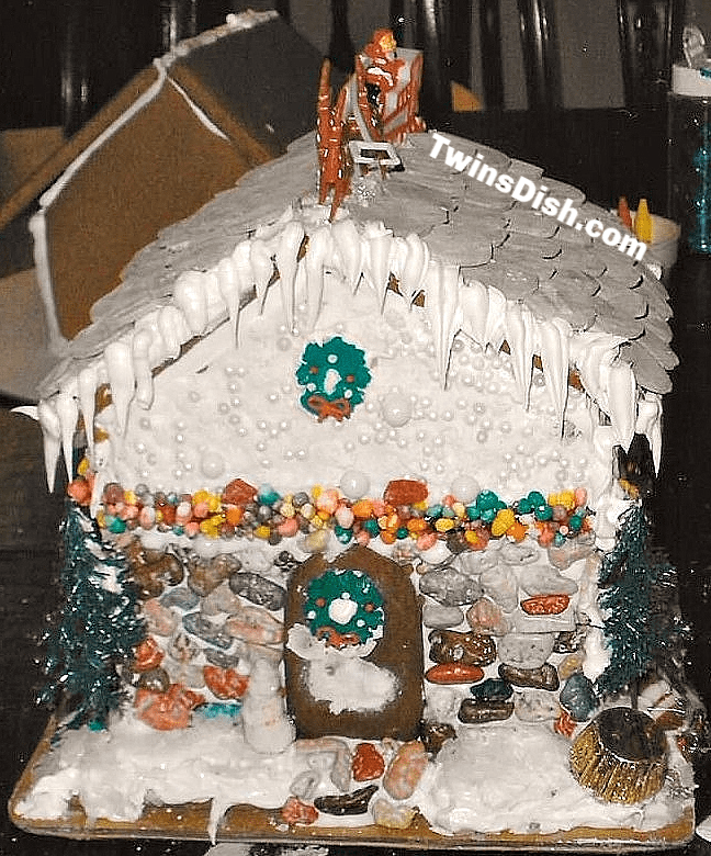 Christmas Gingerbread House Craft Ideas
