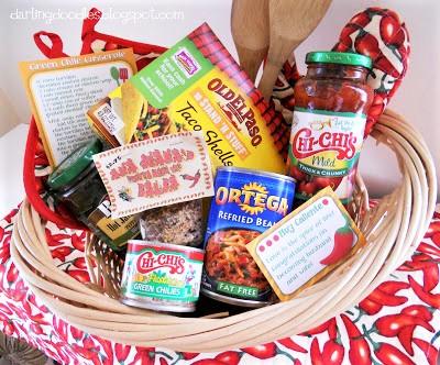 Taco Kit Gift Basket Idea