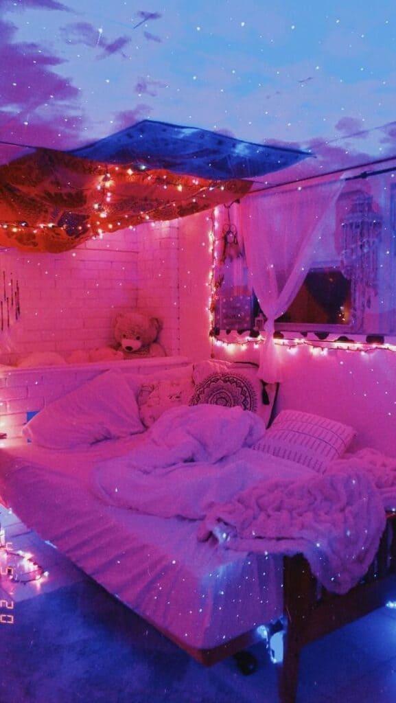 Tik Tok Mood room lighting for teen bedroom or dorm room decor