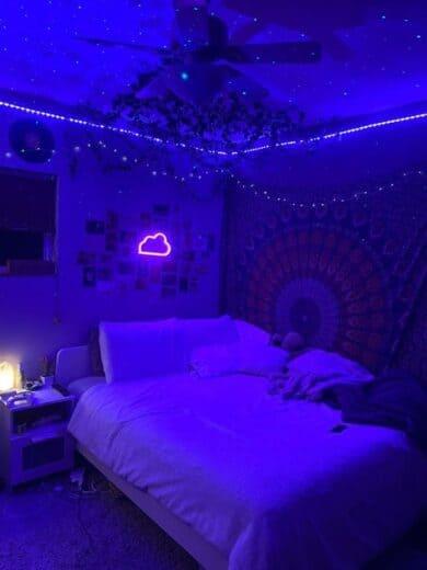 Teen Vibe Mood Room Lighting with Neon Led Lights