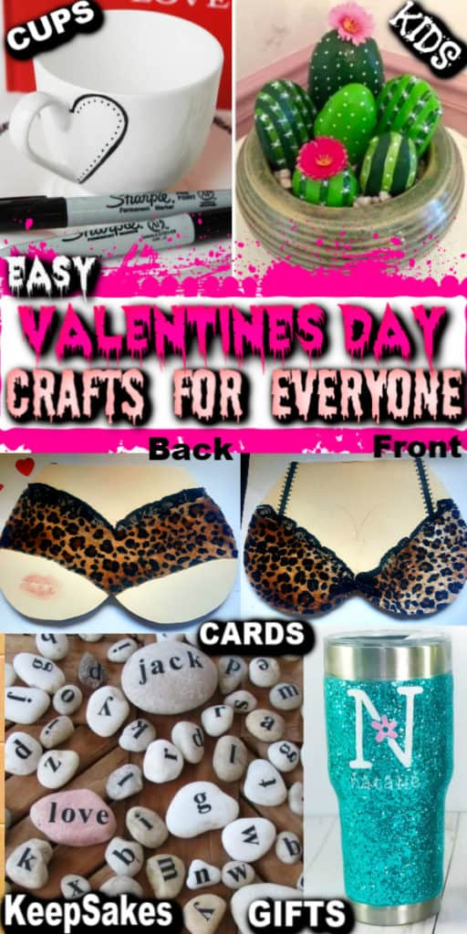 DIY Valentine's Day Crafts / DIY Boyfriend Gifts / Cards / Mugs/ Man Bouquets / Teacher's Gifts / Decorations / Recipes / Puns