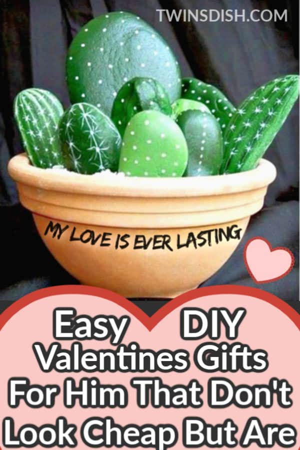 Inspiring Valentine crafts ideas that make great gifts. Unique and creative ideas for cheap unsing dollar store items that teens can make. Romantic and cute pun gift. #ValentinesDay #Crafts