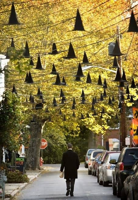 WITCHES HATS HALLOWEEN OUTDOOR DECOR