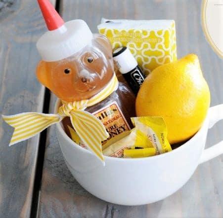Wellness Mug Gift basket idea