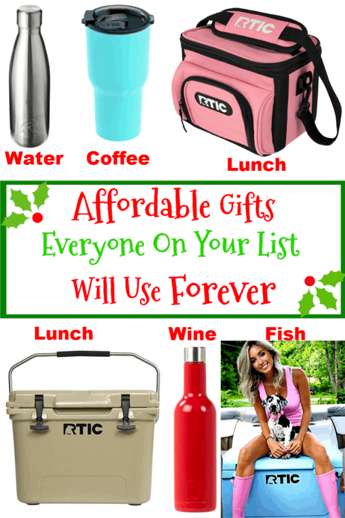 Affordable Gifts Everyone On Your List Will Use Forever. Gift Ideas for teens, kids, adults, parents, boyfriend, him, school, Mom, Dad, and Teacher.