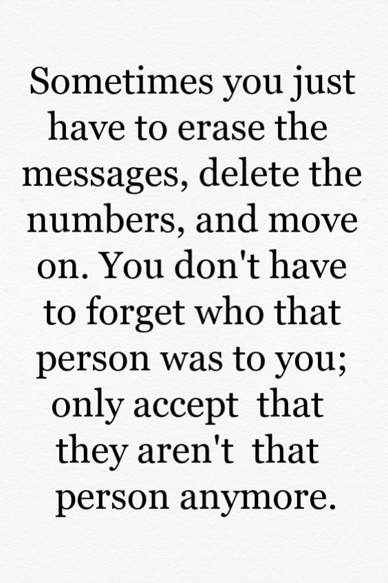Break up quotes about moving on and letting go
