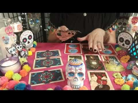 FalconGrl Tarot gives a spooky accurate Free Tarot reading for each birthsign every month on Youtube!