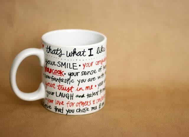 Easy Diy Sharpie Mug Father's day Craft Gift