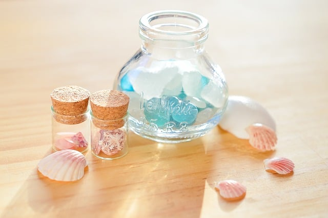 Sea glass sun catcher. Our favorite DIY Mother's Day gift ideas we've made.