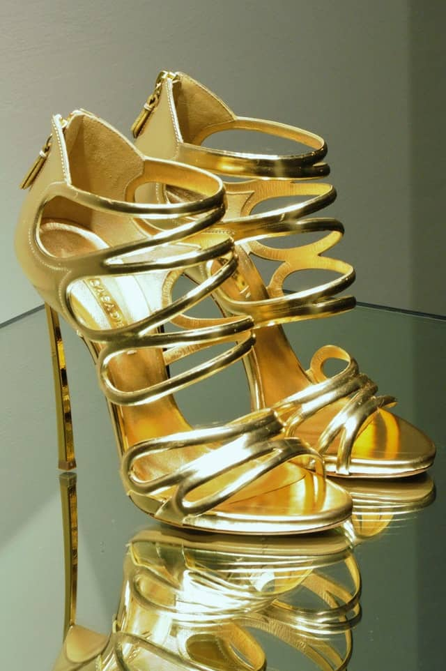 Gold Prom Shoes. A Checklist of what will ruin Prom.