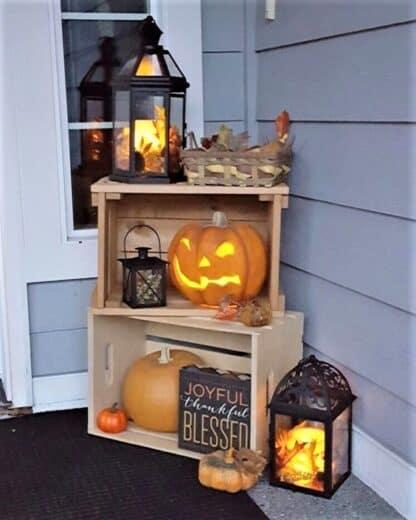 Halloween Porch OutdoorDecorIdea